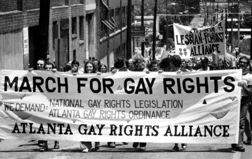 Civil rights for gays