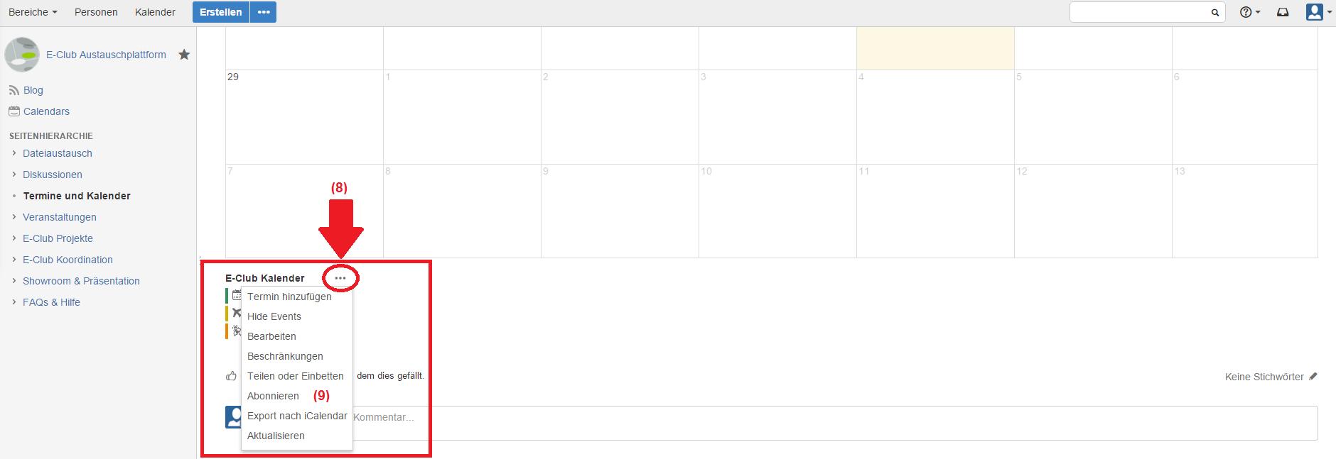 Fu Berlin Kalender