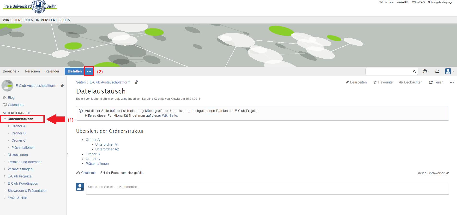 Dateiablage erstellen - CoCo: Koordination und Kommunikation in ...