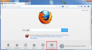 Wie konfiguriere ich den Browser Mozilla Firefox? - FAQ ...  Wie konfigurier...